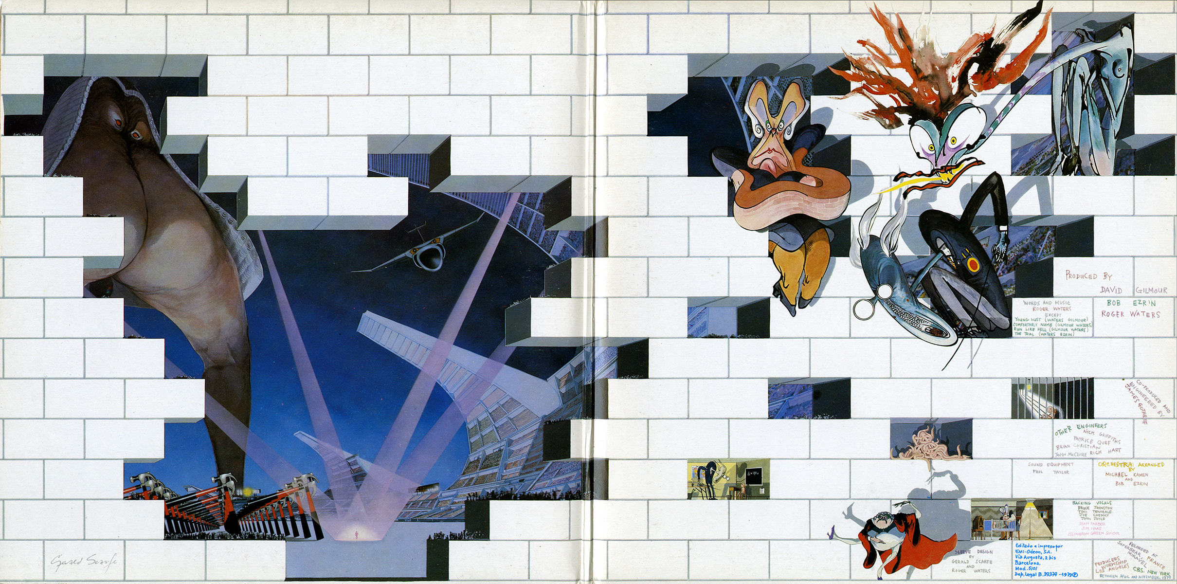 Duvar – The Wall – Pink Floyd
