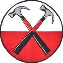 Çekiç logosu bayrağı Pink Floyd