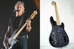 Roger Waters'ın Hediye Ettiği Bas Gitar