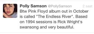 Pink Floyd Yeniden Tweeti