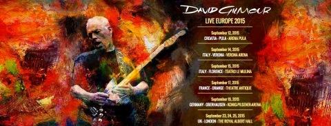 David Gilmour 2015 Turnesi