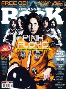 Classic Rock dergisinin kapağı