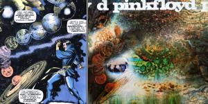 Saucerful albüm kapağında kullanılan Dr Strange çizgi kahramanı
