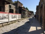 Pompeii sokakları