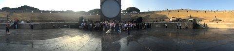 Nihayet Pompeii sahne