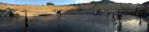 Nihayet Pompeii güney giriş
