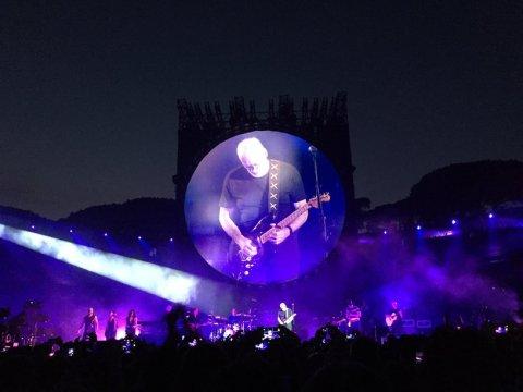 David Gilmour Pompeii