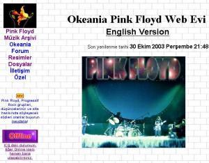 Sitemizin 2003 yılından bir görüntü