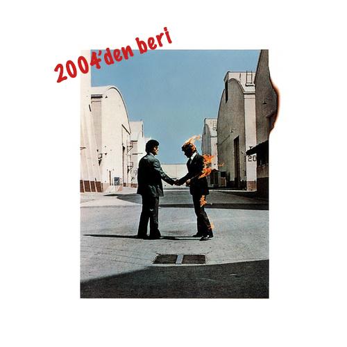Pink Floyd Wish You Were Here kapağı karşılama fotoğrafı