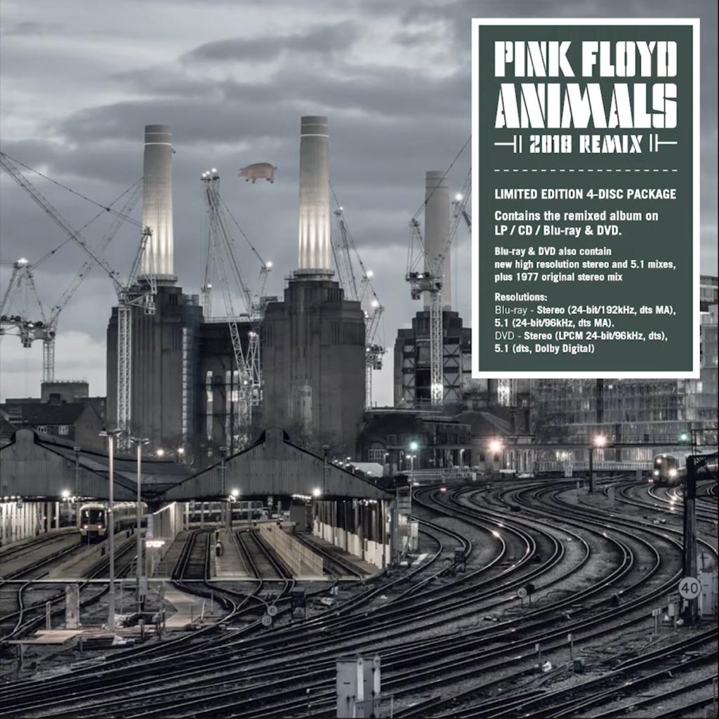 Pink Floyd Animals Remix versiyonu yayınlanıyor.